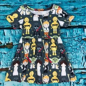 Star Wars Inspired Custom Boutique Dress